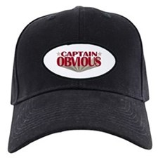 Captain Obvious Baseball Hat