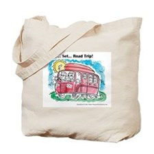 Chaucer's Family Road Trip Tote Bag