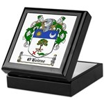 O'Beirne Family Crest Keepsake Box