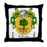 O'Boyle Family Crest Throw Pillow