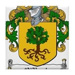 O'Boyle Family Crest Tile Coaster
