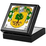 O'Boyle Family Crest Keepsake Box