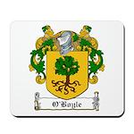 O'Boyle Family Crest Mousepad