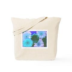 Blue Moon Daisy Tote Bag