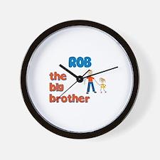 Rob - The Big Brother Wall Clock
