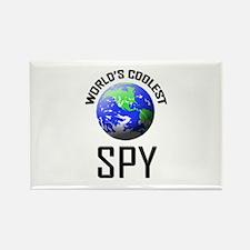 World's Coolest SPY Rectangle Magnet