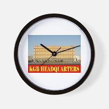 KGB Headquarters Wall Clock