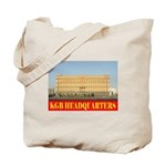KGB Headquarters Tote Bag