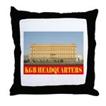 KGB Headquarters Throw Pillow
