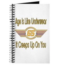 Funny 65th Birthday Journal