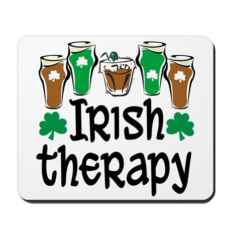 Irish Therapy Mousepad