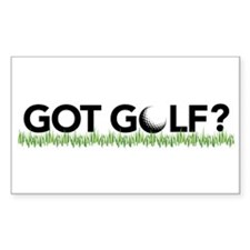 Got Golf? Rectangle Decal