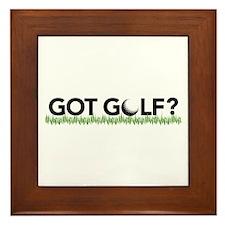 Got Golf? Framed Tile
