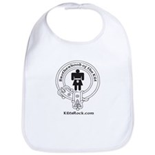 Cute Scottish clan crest Bib