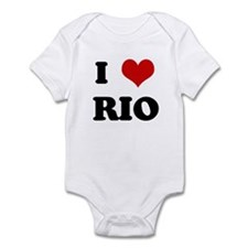 I Love RIO Infant Bodysuit