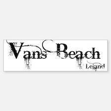 Van's Beach Cowboy Bumper Bumper Bumper Sticker