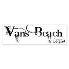 Van's Beach Cowboy Bumper Bumper Sticker