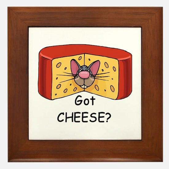 Got Cheese? Framed Tile