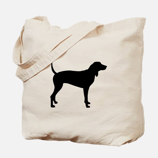 Coonhound Tote Bag