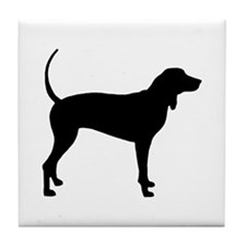 Coonhound Tile Coaster