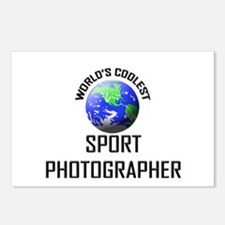 World's Coolest SPORT PHOTOGRAPHER Postcards (Pack