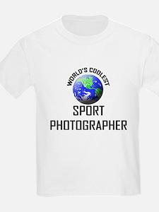 World's Coolest SPORT PHOTOGRAPHER T-Shirt