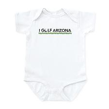 I Golf Arizona Infant Bodysuit