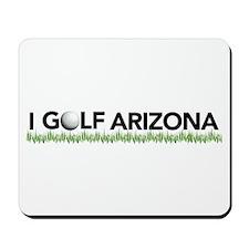 I Golf Arizona Mousepad