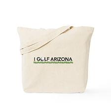 I Golf Arizona Tote Bag