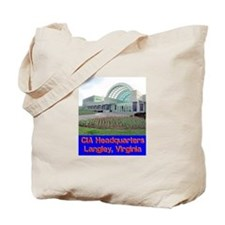 CIA Headquarters Tote Bag