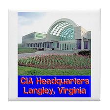 CIA Headquarters Tile Coaster