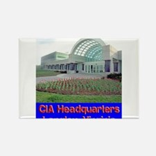 CIA Headquarters Rectangle Magnet (10 pack)