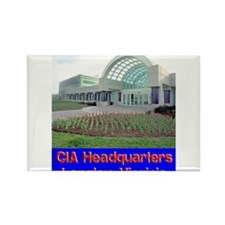 CIA Headquarters Rectangle Magnet (100 pack)