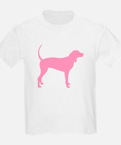 Pink Coonhound T-Shirt