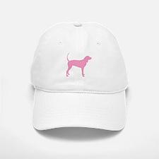 Pink Coonhound Baseball Baseball Cap