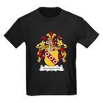 Gumprecht Family Crest Kids Dark T-Shirt