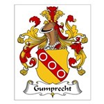 Gumprecht Family Crest Small Poster