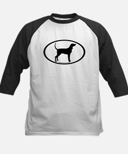 Coonhound #2 Oval Tee