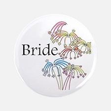"""Fireworks Bride 3.5"""" Button"""