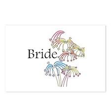 Fireworks Bride Postcards (Package of 8)