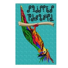 Flipped The Bird Postcards (Package of 8)