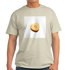 Dollar Symbol on a Candy Heart T-Shirt