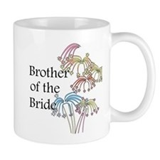 Fireworks Brother of the Bride Mug