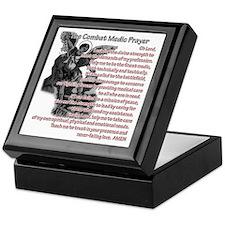 Combat Medic's Prayer Keepsake Box