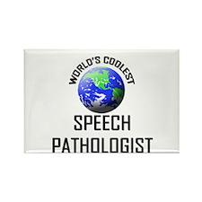 World's Coolest SPEECH PATHOLOGIST Rectangle Magne