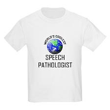 World's Coolest SPEECH PATHOLOGIST T-Shirt