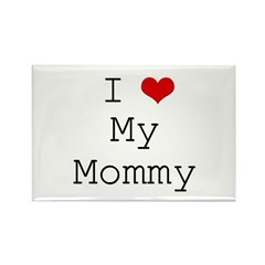 I Heart My Mommy Rectangle Magnet (10 pack)