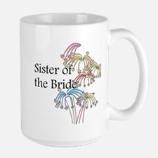 Fireworks Sister of the Bride Mug