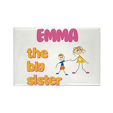 Emma - The Big Sister Rectangle Magnet