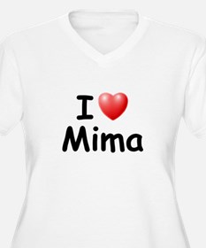 I Love Mima (Black) T-Shirt